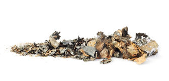 κομμάτια μετάλλων Στοκ φωτογραφία με δικαίωμα ελεύθερης χρήσης