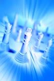 κομμάτια σκακιού Στοκ εικόνες με δικαίωμα ελεύθερης χρήσης