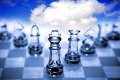 κομμάτια σκακιού Στοκ φωτογραφίες με δικαίωμα ελεύθερης χρήσης