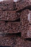 κομμάτια σοκολάτας Στοκ Εικόνα