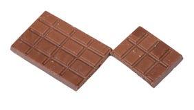 Κομμάτια της σοκολάτας Στοκ Φωτογραφία