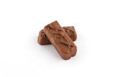Κομμάτια της σοκολάτας Στοκ εικόνες με δικαίωμα ελεύθερης χρήσης