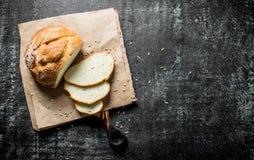 Κομμάτια του ευώδους ψωμιού στοκ φωτογραφία με δικαίωμα ελεύθερης χρήσης