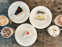 Κομμάτια του κέικ Στοκ φωτογραφία με δικαίωμα ελεύθερης χρήσης