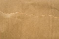 Κομμάτια του καφετιού χαρτί Στοκ φωτογραφία με δικαίωμα ελεύθερης χρήσης