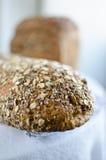 Κομμάτια του σπιτικού wholemeal ψωμιού Στοκ φωτογραφίες με δικαίωμα ελεύθερης χρήσης