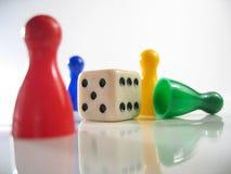 κομμάτια τυχερού παιχνιδ&io Στοκ Εικόνες