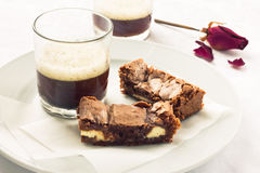 Brownies Στοκ φωτογραφία με δικαίωμα ελεύθερης χρήσης