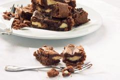 Brownies Στοκ εικόνα με δικαίωμα ελεύθερης χρήσης