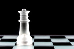 Κομμάτι σκακιού βασίλισσας Στοκ Εικόνα