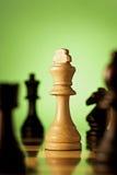 Κομμάτι σκακιού βασιλιάδων νίκης Στοκ Εικόνες