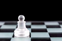 Κομμάτι σκακιού ενέχυρων Στοκ Εικόνες