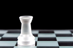 Κομμάτι σκακιού κορακιών Στοκ Εικόνες
