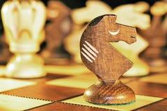 Κομμάτι σκακιού - ο ιππότης Στοκ Εικόνες