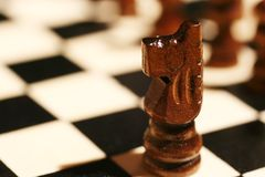κομμάτι σκακιού στοκ φωτογραφία με δικαίωμα ελεύθερης χρήσης