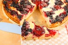 Κομμάτι της γλυκιάς πίτας Στοκ φωτογραφίες με δικαίωμα ελεύθερης χρήσης