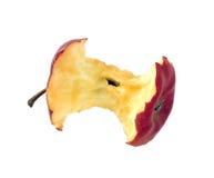 Κομμάτι της Apple στο λευκό Στοκ Φωτογραφία