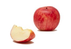 Κομμάτι δ της Apple Στοκ Εικόνες