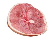 Κομμάτι του ακατέργαστου ζαμπόν χοιρινού κρέατος Στοκ φωτογραφία με δικαίωμα ελεύθερης χρήσης