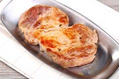 Κομμάτι του βόειου κρέατος Στοκ εικόνες με δικαίωμα ελεύθερης χρήσης