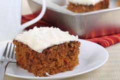Επιδόρπιο κέικ καρότων στοκ φωτογραφίες