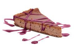 Κομμάτι του κέικ σοκολάτας Στοκ Φωτογραφίες