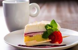 Κομμάτι του κέικ στοκ εικόνα