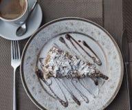 Κομμάτι του κέικ napoleon Στοκ Εικόνες