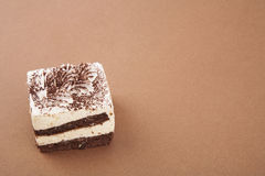 Κομμάτι του κέικ tiramisu Στοκ Εικόνες