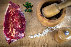 Κομμάτι του κρέατος Στοκ φωτογραφία με δικαίωμα ελεύθερης χρήσης