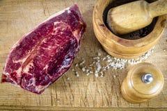 Κομμάτι του κρέατος Στοκ Εικόνα