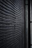 Κομμάτι του μαύρου τοίχου Στοκ φωτογραφίες με δικαίωμα ελεύθερης χρήσης