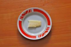 Κομμάτι του τυριού στοκ φωτογραφίες