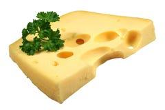 κομμάτι τυριών Στοκ Εικόνες
