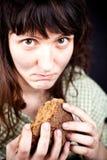 κομμάτι ψωμιού επαιτών Στοκ εικόνες με δικαίωμα ελεύθερης χρήσης