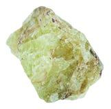 Κομμάτι apatite στροντίου Saamit της πέτρας Στοκ Εικόνες
