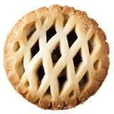 Κομματιάστε την πίτα που απομονώνεται στοκ φωτογραφίες με δικαίωμα ελεύθερης χρήσης