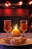 Κομματιάστε τις πίτες και το σέρρυ. στοκ φωτογραφία με δικαίωμα ελεύθερης χρήσης