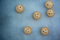 Κομματιάστε τις πίτες με το copyspace στοκ φωτογραφία με δικαίωμα ελεύθερης χρήσης