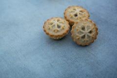 Κομματιάστε τις πίτες με το copyspace στοκ εικόνες