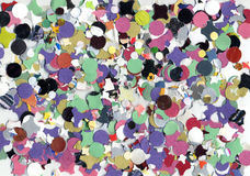 κομφετί καρναβαλιού Στοκ φωτογραφία με δικαίωμα ελεύθερης χρήσης