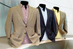 Κομψά κοστούμια στο deferent χρώμα Στοκ εικόνα με δικαίωμα ελεύθερης χρήσης