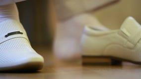 κομψά παπούτσια απόθεμα βίντεο