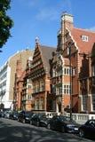κομψά townhouses του Λονδίνου στοκ εικόνες