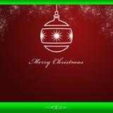 Κομψή ανασκόπηση καρτών Χριστουγέννων Στοκ εικόνα με δικαίωμα ελεύθερης χρήσης