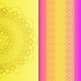 Κομψή ανασκόπηση με τη διακόσμηση δαντελλών και θέση για το κείμενο σαν χρώματος σχεδίου vectorized επιθυμία κυλίνδρων στοιχείων  ελεύθερη απεικόνιση δικαιώματος