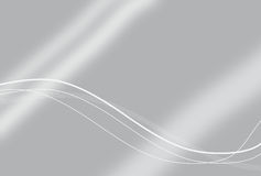Κομψή ασημένια ανασκόπηση τεχνολογίας Στοκ εικόνα με δικαίωμα ελεύθερης χρήσης