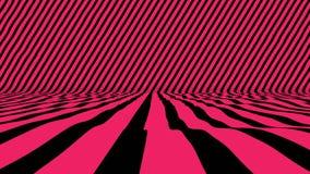 Κομψή επιφάνεια με τα πολύχρωμα λωρίδες κινήσεων απόθεμα βίντεο
