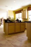 κομψή κουζίνα σύγχρονη Στοκ Φωτογραφίες