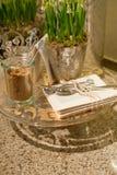 Κομψή κουζίνα worktop στοκ εικόνα με δικαίωμα ελεύθερης χρήσης